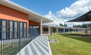 Murupara Area School exterior completed in 2016 by RDT Pacific project managers