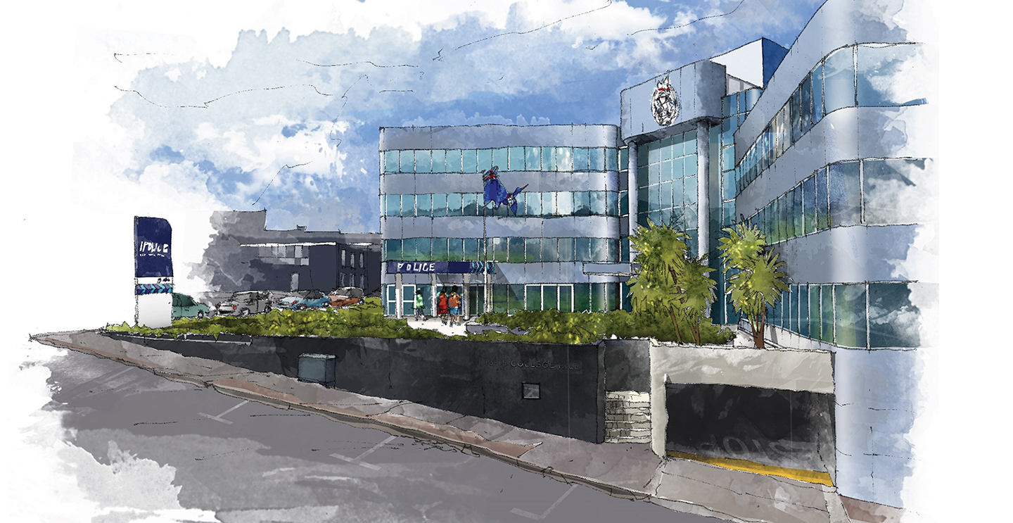 Auckland Police Station Relocation