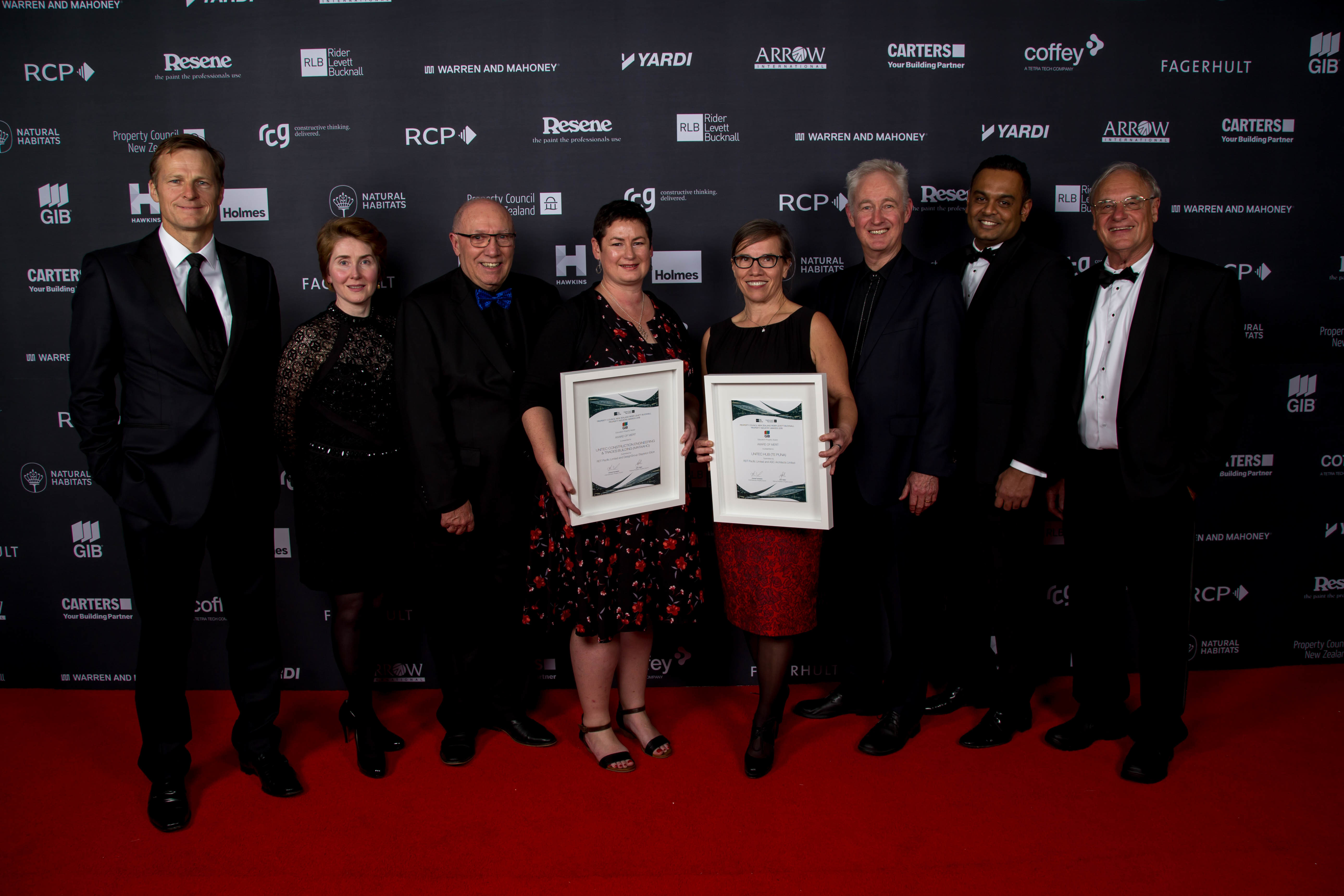 RDT Pacific Team Property Council Awards